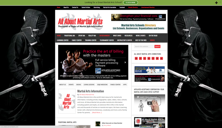Websites By Martial Arts Enterprises