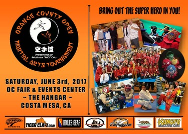 8th ORANGE COUNTY (OC) OPEN MARTIAL ARTS TOURNAMENT